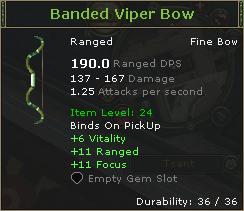Banded Viper Bow