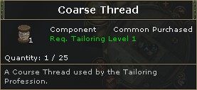 Coarse Thread