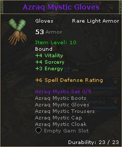 Azraq Mystic Gloves
