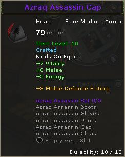 Azraq Assassin Cap