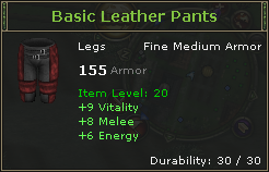 Basic Leather Pants