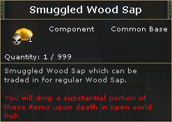 SmuggledWoodSap