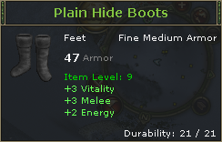 PlainHideBoots