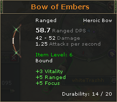 Bow of Embers