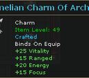 Carnelian Charm Of Archery
