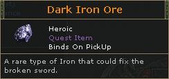 Dark Iron Ore