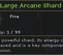 Large Arcane Shard