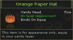 OrangePaperHat