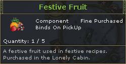Festive Fruit
