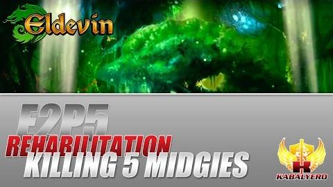 Eldevin Gameplay 2014 E2P5 Rehabilitation ★ Killing 5 Midgies