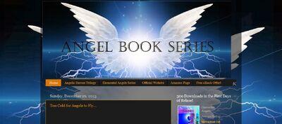 Angel book series blog screen shot