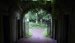 Cemetery Enterance