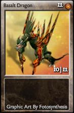 Basalt dragon