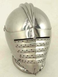 Plate-helm