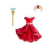 Elena Royal Gown With Scepter And Tiara Set