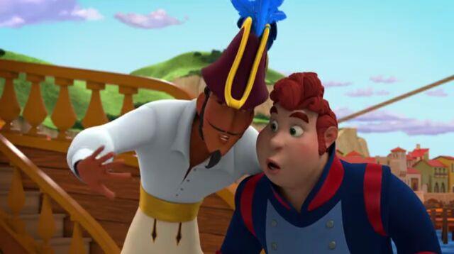 File:Esteban and Higgens talking.jpg