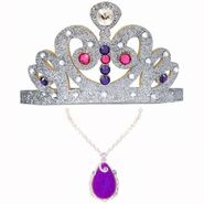 Sofia Tiara And Purple Amulet