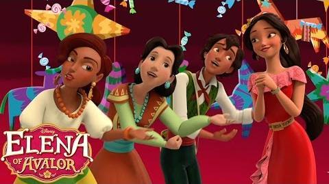 The Way We Do Navidad Music Video Elena of Avalor Disney Junior