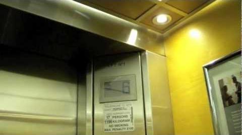 Schindler Traction Elevators in the Novotel Rockford (Darling Harbour) Hotel in Sydney