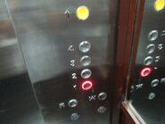 OTIS Gen2 red buttons