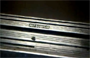 Old Mitsubishi Door Sill Logo 1