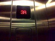 Schindler M-Line floor indicator SBT
