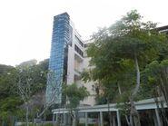 Ritz-Carlton Bali glass lifts shafts
