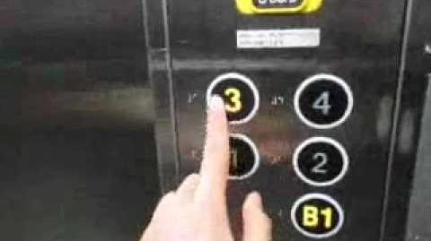 Toshiba Traction Elevator at H&M Store Harajuku, Tokyo