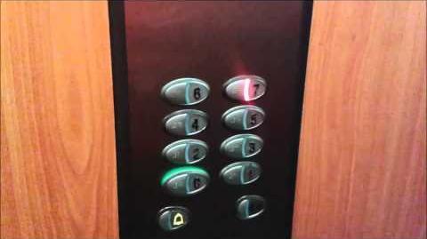 2006 Orona Traction Elevator Lift@Hotel Karolina****, Sunny Beach, Bulgaria
