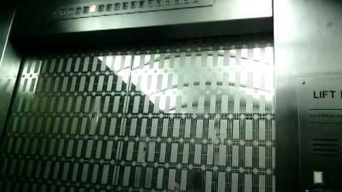 (For TG97Elevators) Old Toshiba Traction Elevators at WTC 6, Jakarta-0