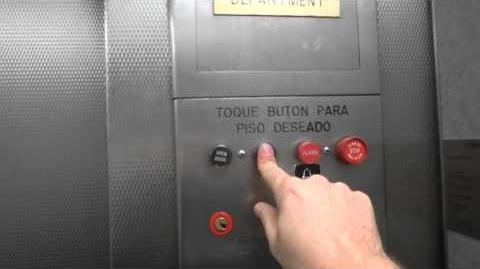 Independent service on vintage Touch Sensitive Otis elevator