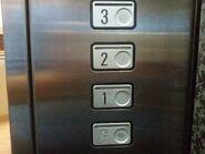 1989 Schindler M-Series floor buttons SantikaBandung
