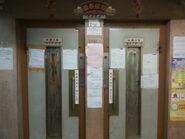 Schindler manual gate Elevator Rseries