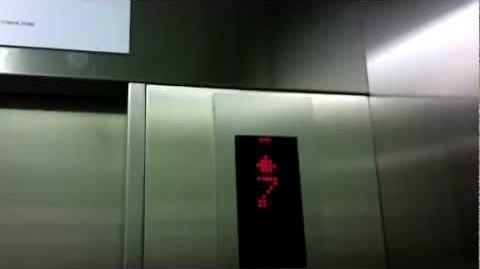 Central Plaza Grand Rama 9, Bangkok Brand New Hitachi Traction Elevators - Retake 1