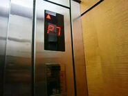 KONE Indolift floor indicator