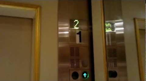 Montien Riverside Hotel, Bangkok Old Schindler Traction Elevators