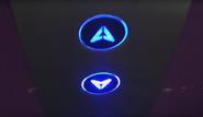 Blue Call Button