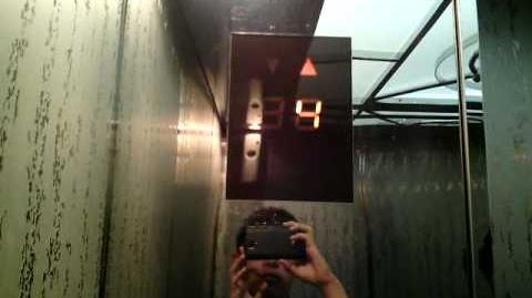 Mitsubishi Traction Elevators at Palma One, Jakarta (Retake 1)