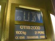 OTIS2000 nameplate