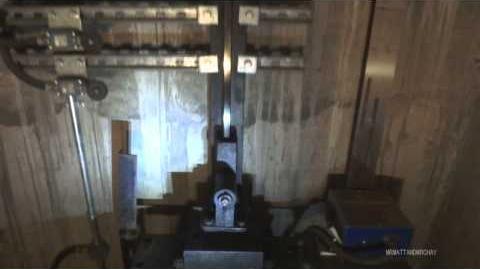 """Old 1970s Otis Door Operator and elevator shaft """"stuff""""!"""