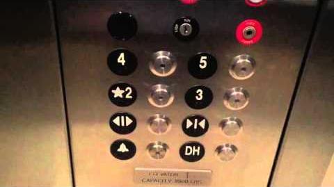 ThyssenKrupp ISIS MRL Traction Elevator @ Mayer Hall UCSD, La Jolla, CA
