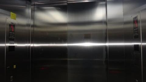 ThyssenKrupp traction talking elevator at H300 Shopping Center in Holon