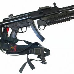 With Grenade Launcher