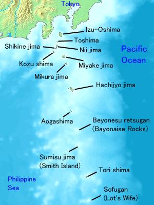 File:Map of Izu Islands (source wikimedia commons).png