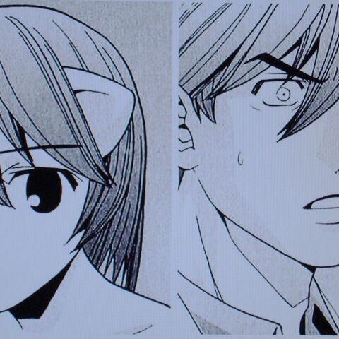 Number Three <i>thanks</i> young Kurama