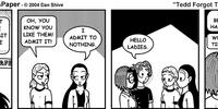 Tedd Forgot To Do Something: Comic for Saturday, Feb 28, 2004