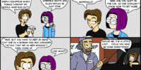 Part 5 - Knock The Board Over: Comic for Monday, Aug 19, 2002