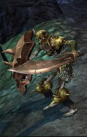 Evil bone warrior