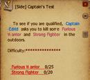 Captain's Test