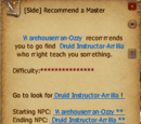 Recommend a Master (Druid Class)